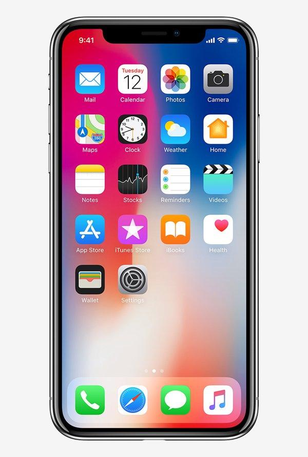 Apple iPhone X 64GB (Silver)  @ ₹ 83,022