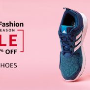 Amazon Offer : Get upto 70% off on Men's Shoes