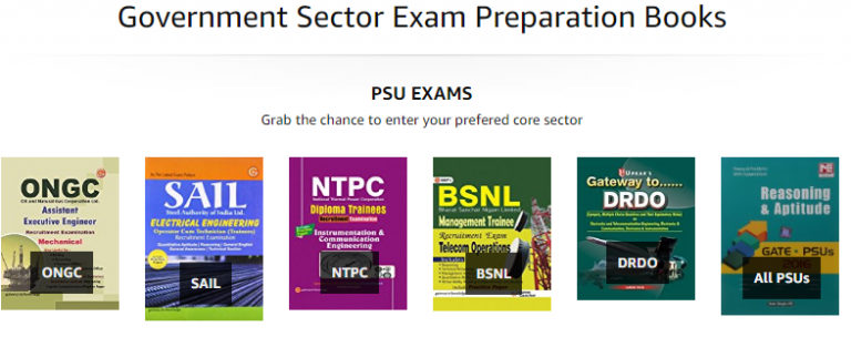 Amazon India Offer : Get upto 70% off on Exams Books