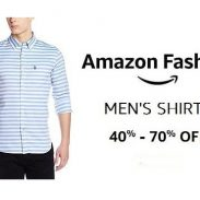 Amazon Offer : Get upto 70% off on Fashion