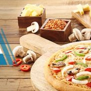 Dominos Offer : Get any 2 Medium Hand Tossed Pizzas of Rs. 385 for Rs. 249 each