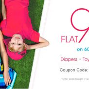 Firstcry Offer : Get 90% off on Diapering, Baby Care, Toys & more