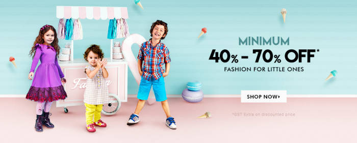 Firstcry Offer : Get upto 70% off on Fashion