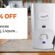 Flipkart  Offer : Get upto 65% off on Small Home Appliances