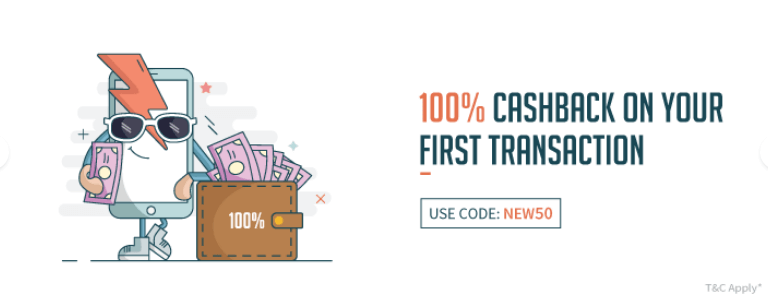 FreeCharge Offer : Get 100% cashback on first transaction