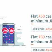 FreeCharge Offer : Get Rs. 50 cashback on Jio Recharge