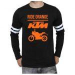 Badtamees Offer : Buy KTM Official DUKE Full sleeve Sports Trim black T-Shirt at Rs. 599