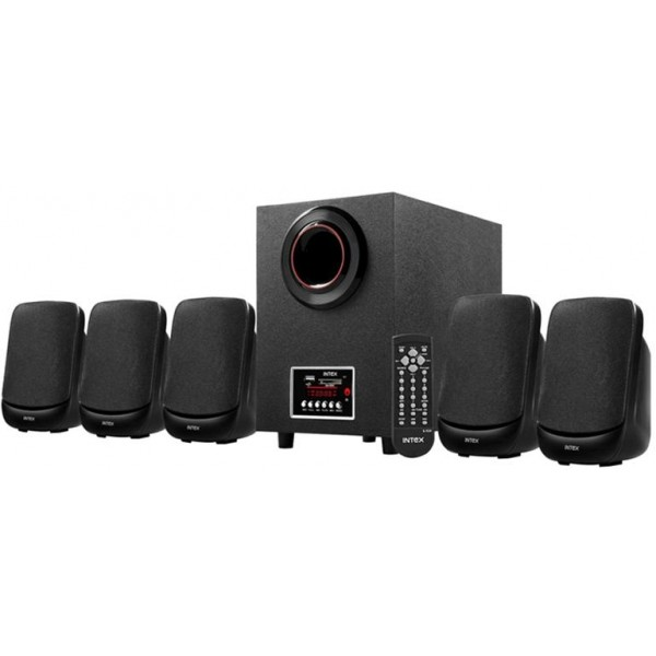 Intex IT- 5100 SUF OS Home Audio Speaker  (Black, 5.1 Channel) @ Rs. 2,099