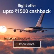Ixigo Offer : Get Rs. 1500 cashback on International Flight Booking