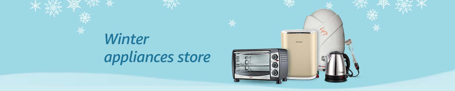 Amazon Offer : Get upto 30% off on Winter Appliances