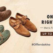 Myntra Offer : Get upto 50% off on Footwear