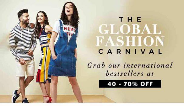 Myntra Offer : Get upto 70% off on Men & Women's Fashion