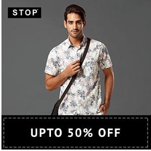 Shoppersstop Offer : Get upto 50% off on Men's Fashion