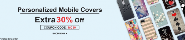Printland Offer : Get 30% off on Personalized Mobile Covers