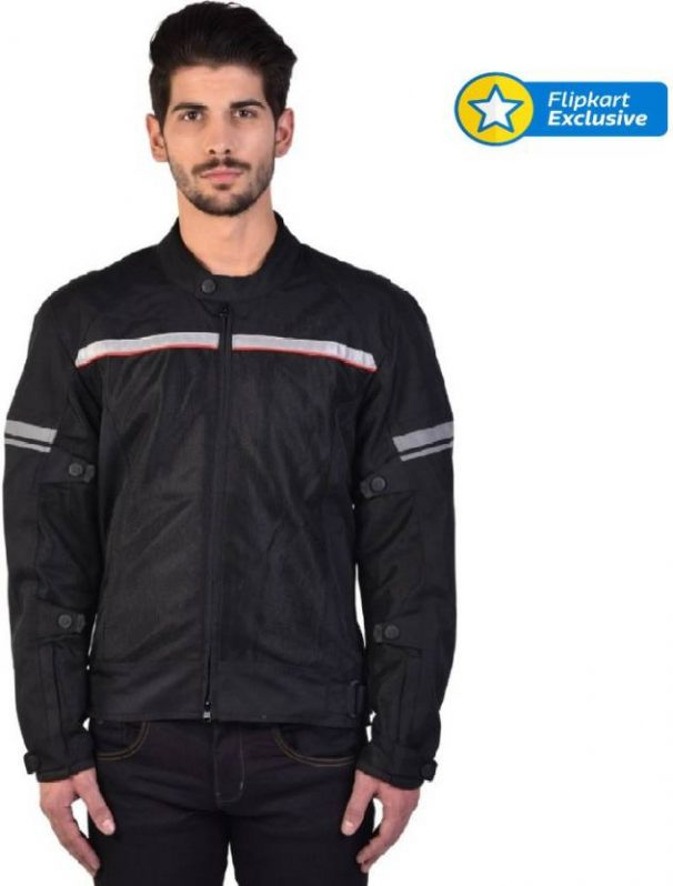 Flipkart Offer : Royal Enfield Riding Protective Jacket  (Black, M) at Rs.7000