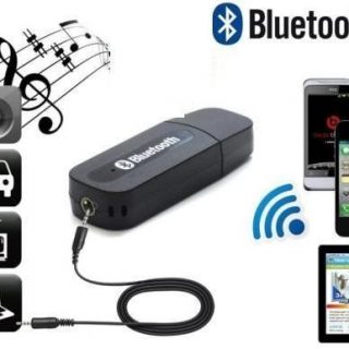 eBay India : USB Bluetooth Audio Music Receiver 3.5mm Adapter Dongle at Rs. 159