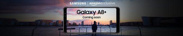 Amazon India: Samsung Galaxy A8+  - Coming soon