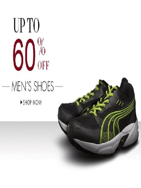 Tata Cliq Offer : Get upto 50% off on Men's Footwears