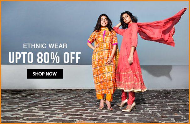 Amazon: Get upto 80% off on Women's Clothing