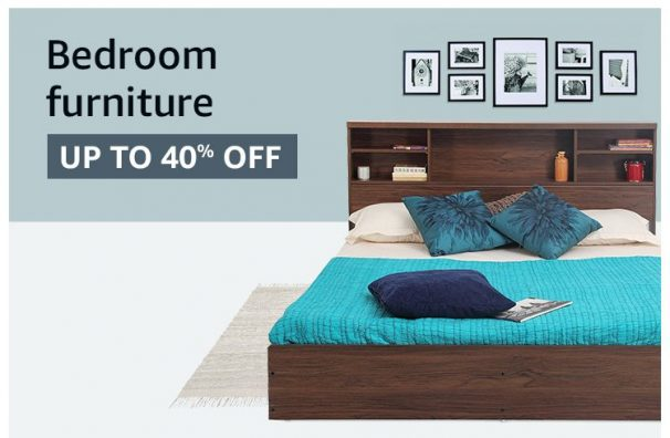 Amazon India Offer : Get upto 40% off on Furniture