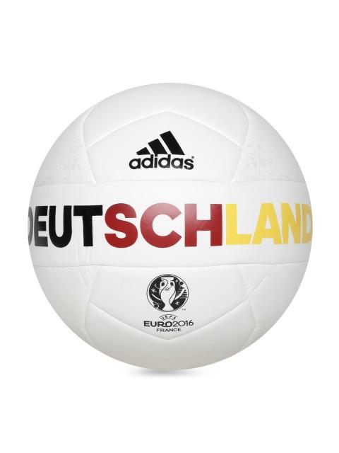 Myntra : Adidas White EURO16 Germany Printed Football at Rs.749