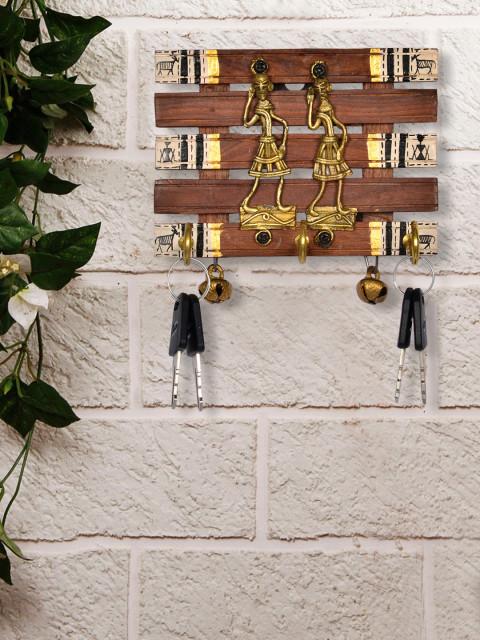 Myntra : Exclusive Lane Dhokra & Warli Work Key Holder at Rs.864
