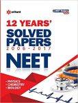 12 Years' Solved Papers CBSE AIPMT & NEET Paperback – 2017 @Rs.213