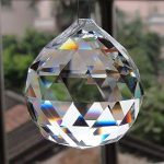 Amazon India : Pindia Fengshui Clear Crystal Hanging Ball for Good luck & Prosperity (Pre Energized in Rock Salt) at Rs.144