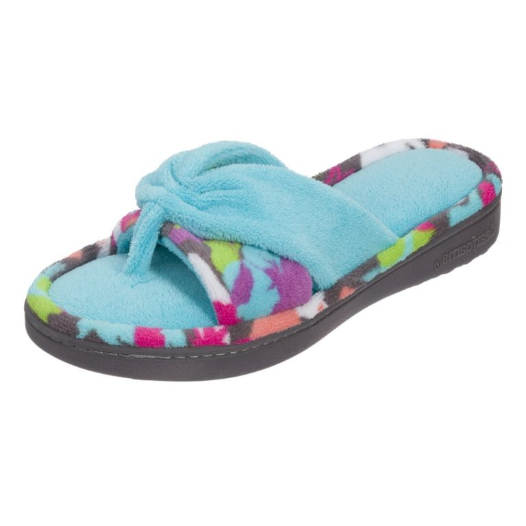 Amazon India : Dearfoams Two-Piece Print Flip Flop at Rs.899