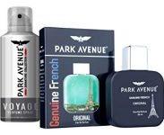 Paytmmall : Park Avenue Genuine French EDP 50ml + Park Avenue Voyage Signature Perfume Spray 100g at Rs.449