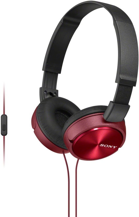 Flipkart: Sony MDRZX310APRCE Wired Headset with Mic @Rs.949