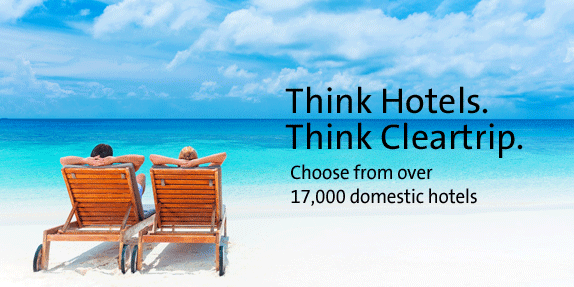 Cleartrip : Get 30% Cashback on Domestic Hotels