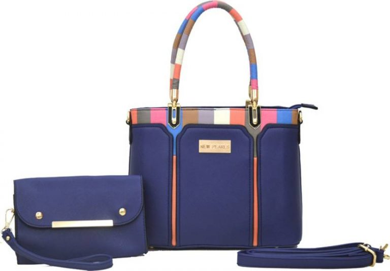 Flipkart : Aginos Hand-held Bag  (Blue) at Rs.1972