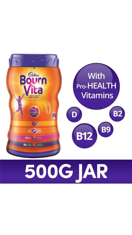 Paytmmall : Cadbury Bournvita Products starting at Rs.199