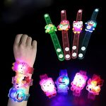 Amazon India : Jiada Birthday Return Gifts For Kids Set Of 24 Assorted Cartoon Characters Led Light Bracelets - Kids Favourite at Rs.760
