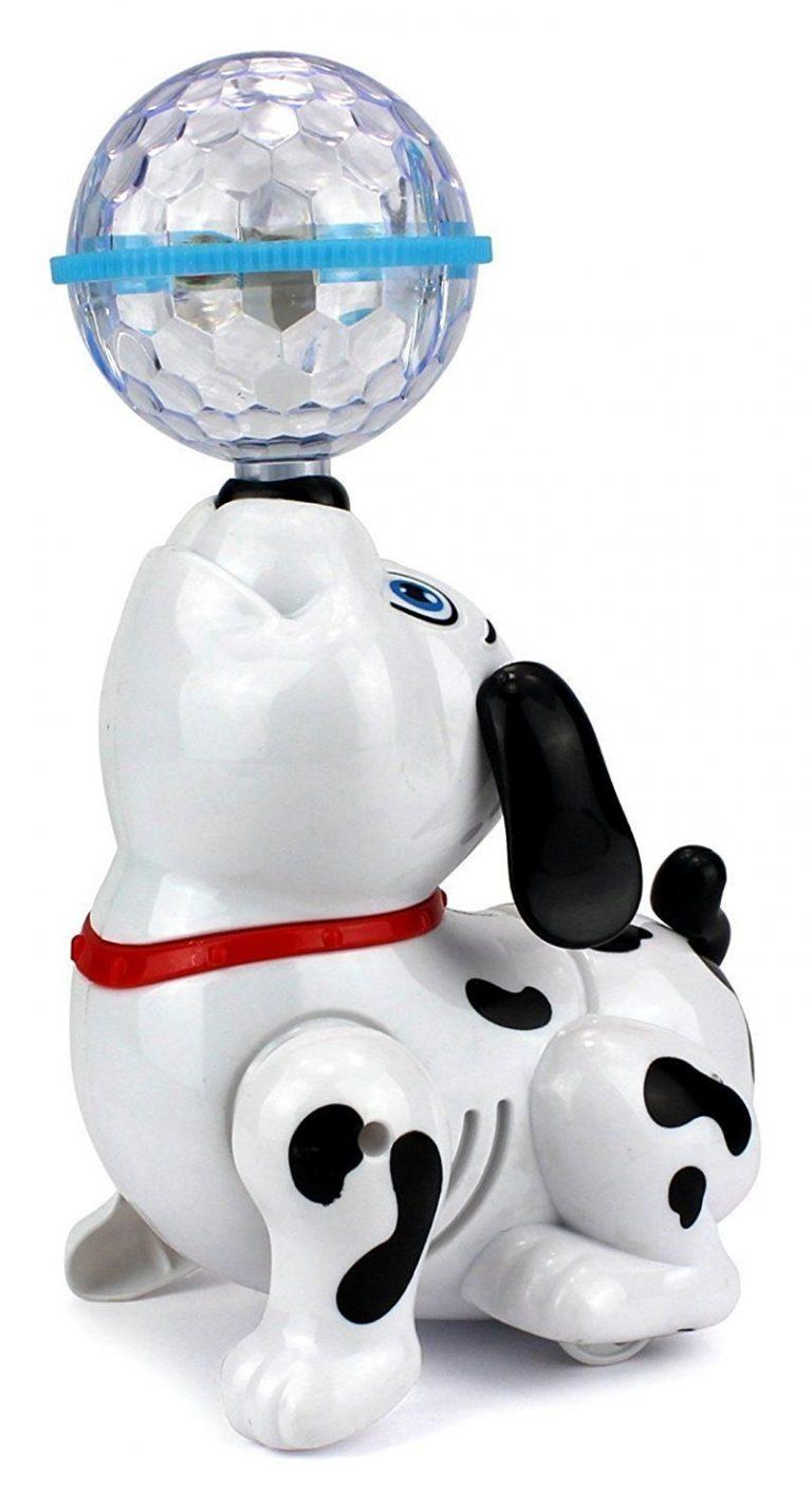 Amazonn India : Toyshine Dancing Dog with Music Flashing Lights at Rs.314.10