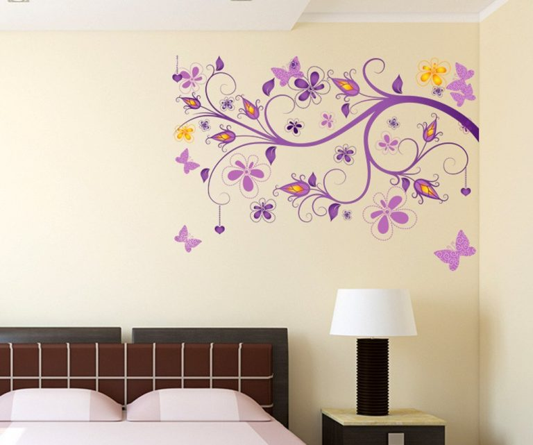 Amazon India : Decals Design 'Floral Vine' Wall Sticker at Rs.129