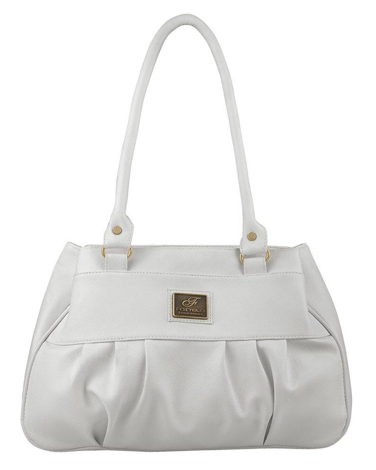 Amazon India : Fostelo Women's Deux Shoulder Bag (White) at Rs.509