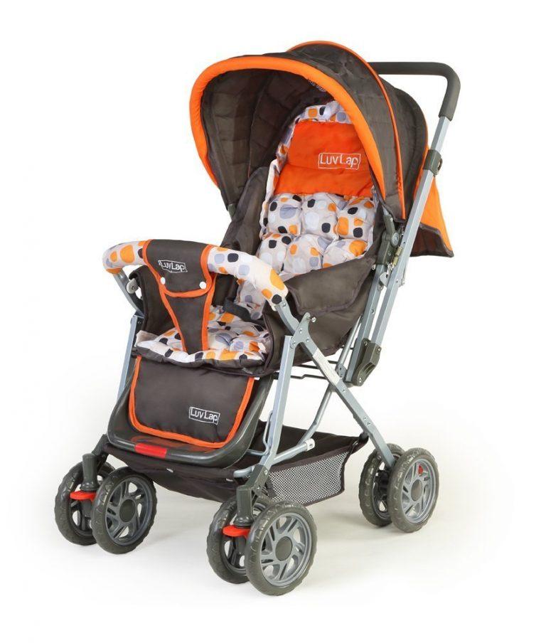 Amazon India : LuvLap Sunshine Baby Stroller (Orange) at Rs.3290