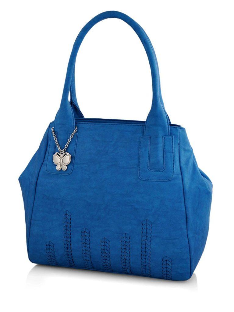 Amazon India : Butterflies Women's Handbag (Blue) at Rs.1399