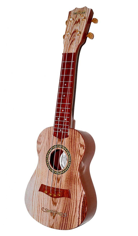 "Amazon India : Toyshine 4-String 18"" Acoustic Guitar Learning Kids Toy at Rs.597"