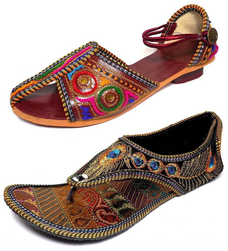 Amazon India : Thari Choice Womans Ethnic Wear Sandal Combo Pack at Rs.419