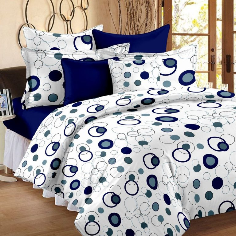Amazon India : Story@Home Bedsheet for Double Bed With 2 Pillow Covers Combo Set at Rs.499