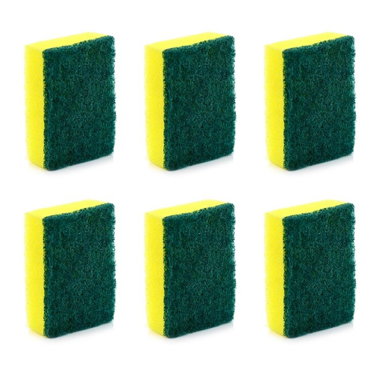 Amazon India : Cello Kleeno Sponge Scrub Pad (Green and Yellow, Pack of 6) at Rs.95