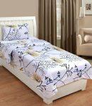 Flipkart : Cotton Single Printed Bedsheet at Rs.299