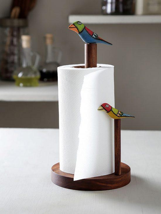 Myntra : Unravel India Brown Handcarved Sheesham Wood Bird Design Tissue Holder at Rs.1180