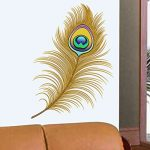 Amazon India : Decals Design 'Oh Dreamy Peacock Feather' Wall Sticker at Rs.109