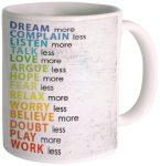 Amazon India : Posterboy 'Dream More' Ceramic Mug (350ml) at Rs.177