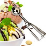 Amazon India : Inovera Stainless Steel Easy Handheld Ice Cream Serving Scooper,Silver at Rs.269