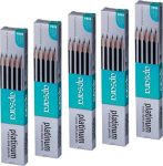 Amazon Indai : Apsara Platinum Extra Dark Pencils Pack of - 5 at Rs.215